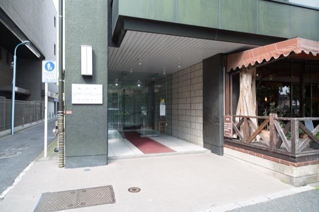 高円寺ダイヤモンドマンションのエントランス
