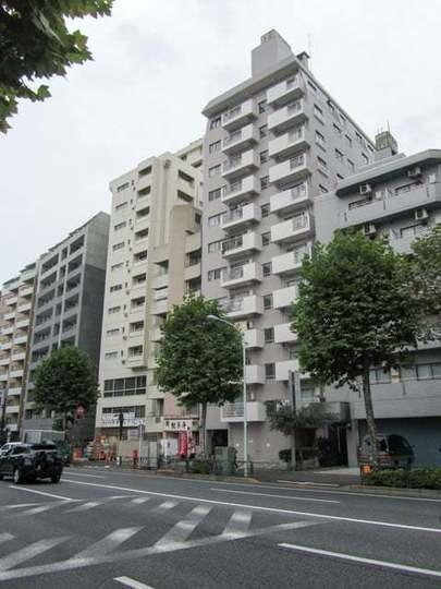 中野永谷マンションの外観