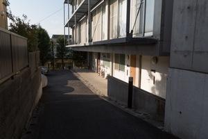 尾山台コートハウスのエントランス