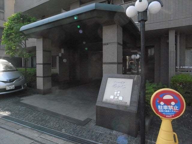イトーピア幡ヶ谷のエントランス