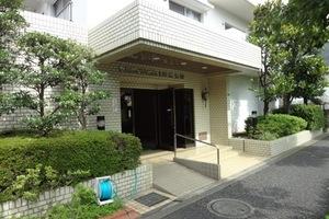 ニックハイム渋江公園のエントランス