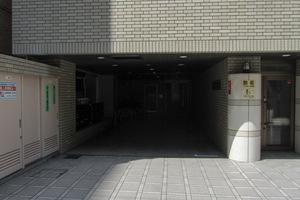 エクセルコート新宿のエントランス