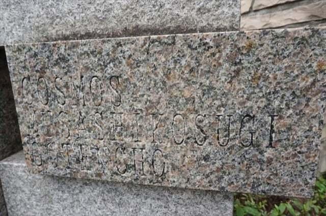 コスモ武蔵小杉御殿町の看板