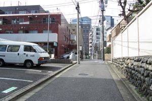 常磐松サマリヤマンションの外観