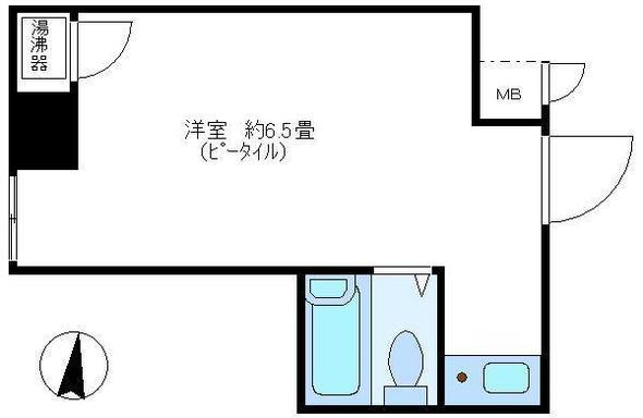 日興パレスビル渋谷の間取り