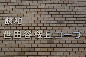 藤和世田谷桜丘コープの看板