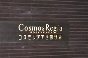 コスモレジア世田谷砧の看板