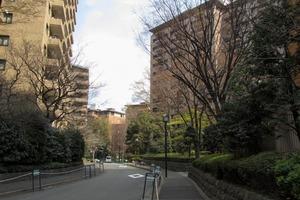 広尾ガーデンヒルズセンターヒル(G・H棟)の外観