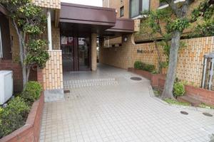 石神井公園サニーコーポのエントランス