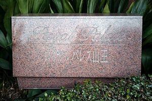 ロイヤルパレス山王の看板