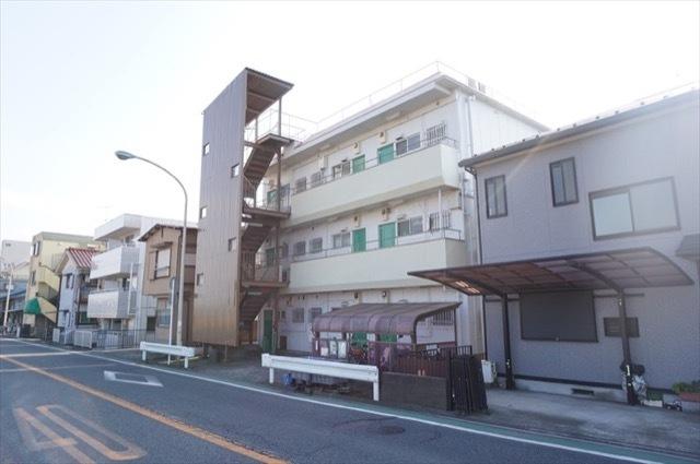 中野島マンションの外観