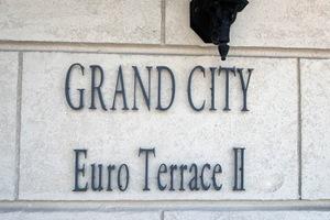 グランシティユーロテラス2の看板