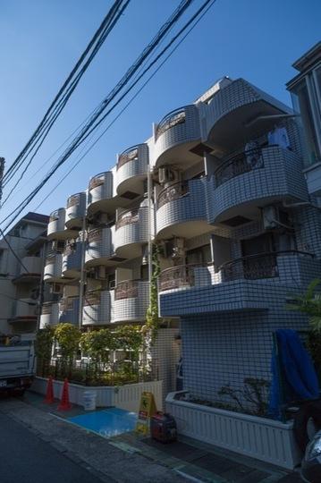 ハイタウン駒沢公園No2の外観