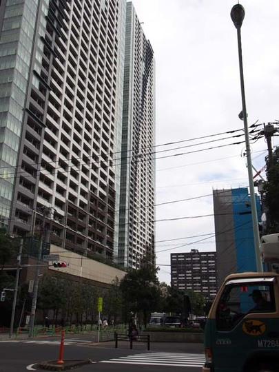 ザ東京タワーズ(ミッドタワー・シータワー)の外観