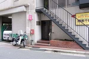 グリーンキャピタル松井ビルのエントランス