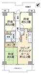 コスモ鶴瀬ステーションスクエアの間取り