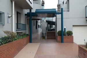 浜田山タウンホームのエントランス