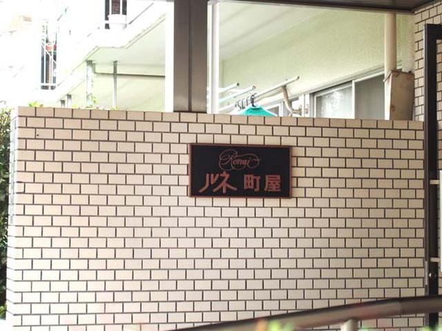 ルネ町屋の看板