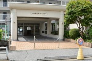 日商岩井新小岩マンションのエントランス
