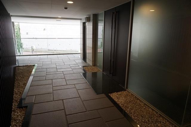 レジディアタワー乃木坂のエントランス
