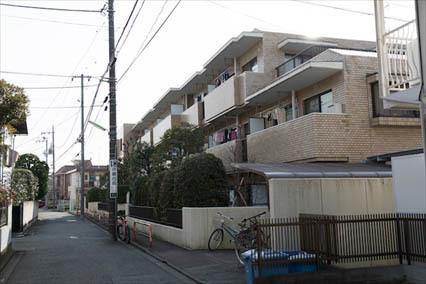 藤和世田谷桜丘コープの外観