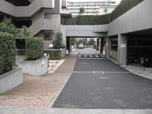 ザウインベル仙台堀公園のエントランス