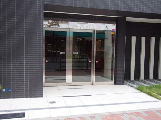 オープンレジデンシア日本橋水天宮のエントランス