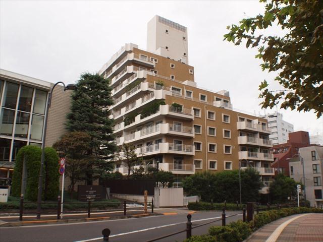 赤坂パークハウスの外観