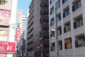 ピアース東京グレイスタワーの外観