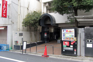 藤和渋谷コープ2のエントランス