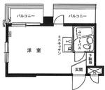 セブンスターマンション上野の間取り