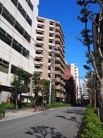 サンヴェール日本橋水天宮の外観