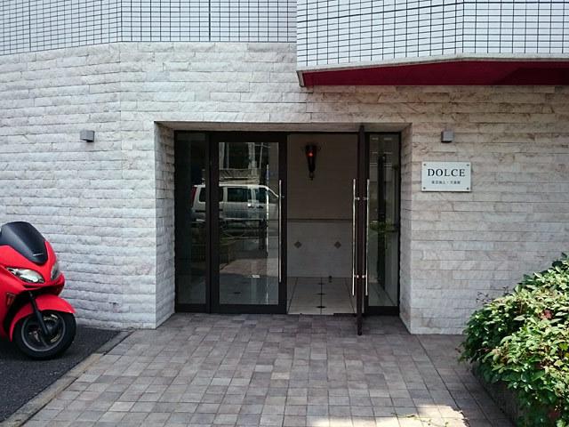 ドルチェ東京池上弐番館のエントランス