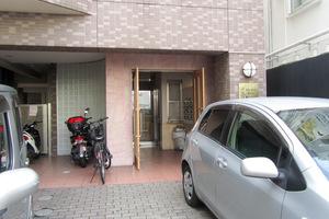レガリアヒルズ渋谷道玄坂のエントランス
