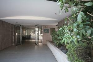バームハイツ武蔵小山2番館のエントランス