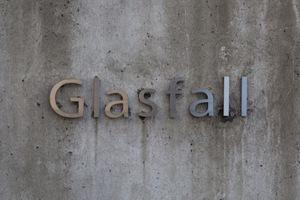 Glasfall(グラスファル)の看板