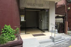 中島第1ビルのエントランス