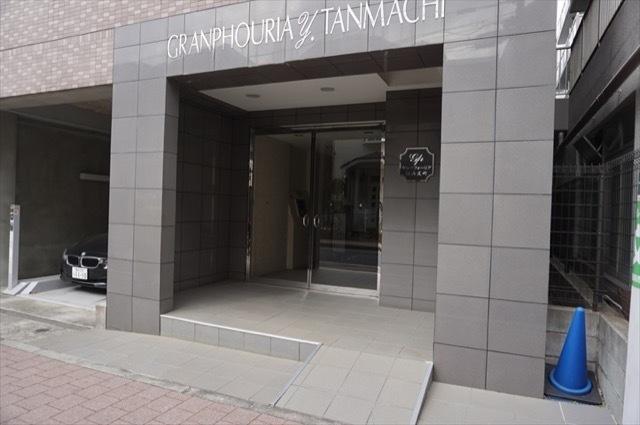 グランフォーリア横浜反町のエントランス