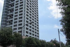 西戸山タワーホウムズサウスタワーの外観