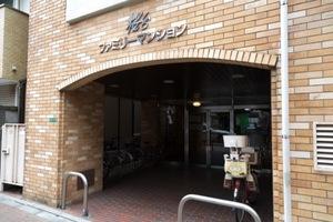 桜台ファミリーマンションのエントランス