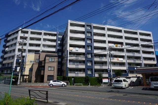 クレッセント武蔵小杉グランデイズ弐番館の外観