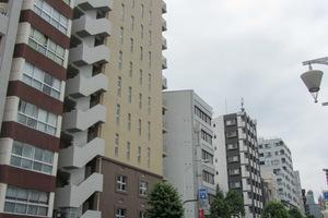 パークハウス西早稲田アーバンスの外観
