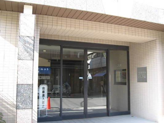 ムサシノコート浅草橋のエントランス