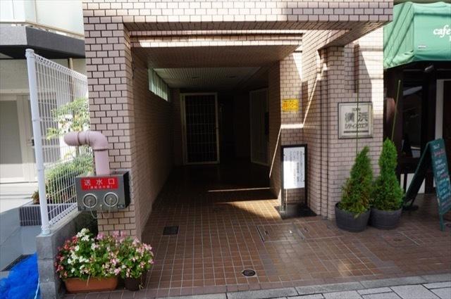 コスモ横浜シティスクエアのエントランス