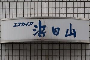 エスカイア浜田山の看板