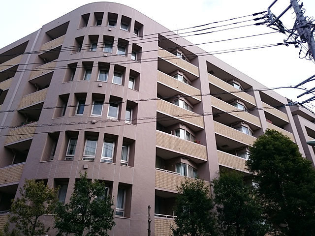 コンセール大森山王壱番館の外観