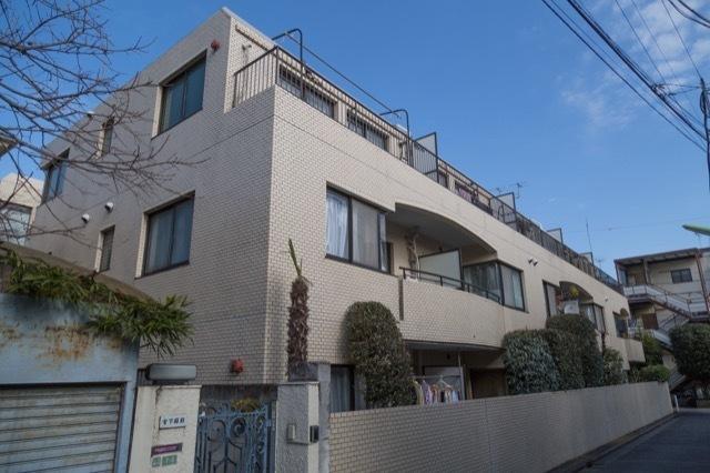 タウンハイツ駒沢の外観