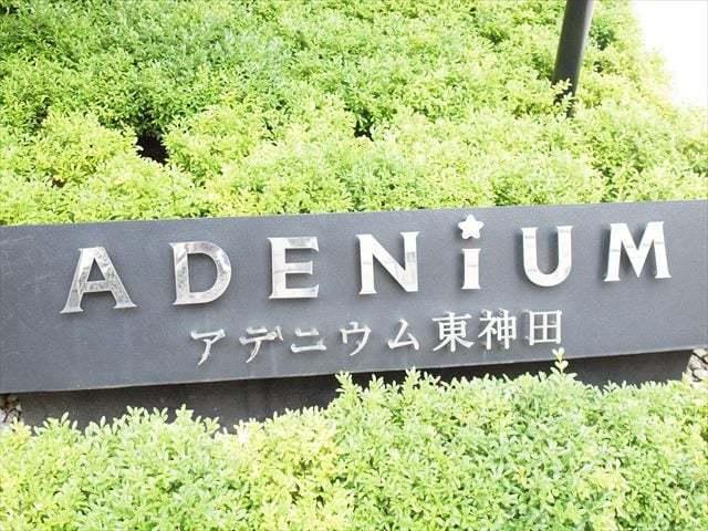 アデニウム東神田の看板
