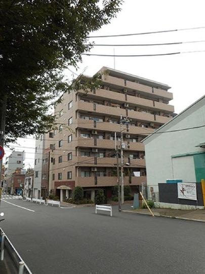 ライオンズマンション錦糸町親水公園の外観