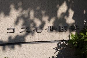 コスモ世田谷の看板